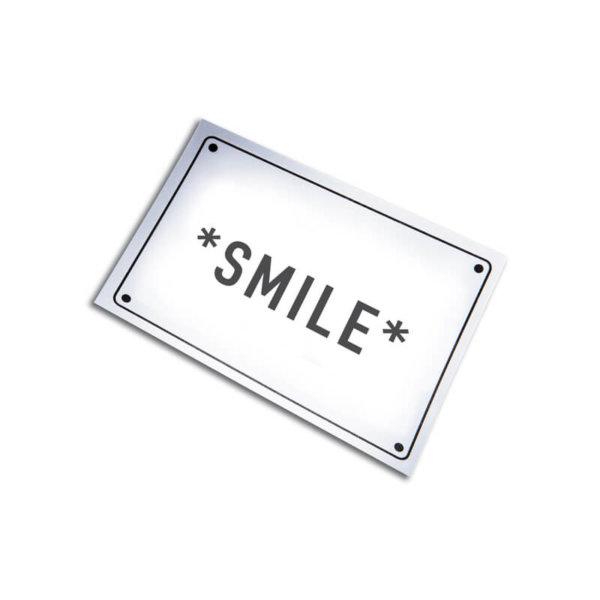 Haftnotiz mit Motiv Smile.