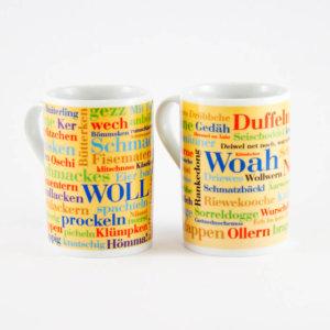 Kaffeebecher Sauerländer und Siegerländer Wörter (2er Set)