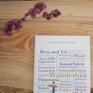 Geschenkidee Wanderlust für Menschen mit der Leidenschaft für's Wandern