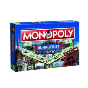 Der Spieleklassiker Monopoly als Ruhrgebiet-Edition.