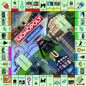 Monopoly Ruhrgebiet Spielbrett.