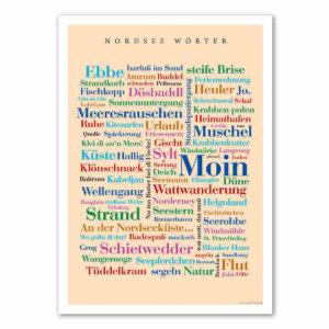Das Poster mit den Nordsee Wörtern ist da!