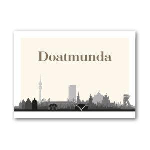 Die Postkarte Doatmunda für echte Dortmunder.