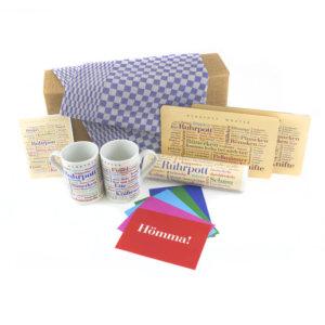 Die Geschenkbox Bütterken mit schönen Geschenkideen aus dem Ruhrgebiet.