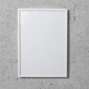 Alu Bilderrahmen in weiß