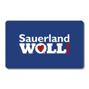 Wir lieben das Sauerland, daher wird WOLL bei uns großgeschrieben.