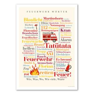 Geschenk für Kind zum Thema Feuerwehr