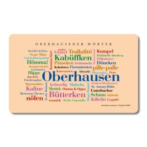 Frühstücksbrettchen Oberhausen Wörter.