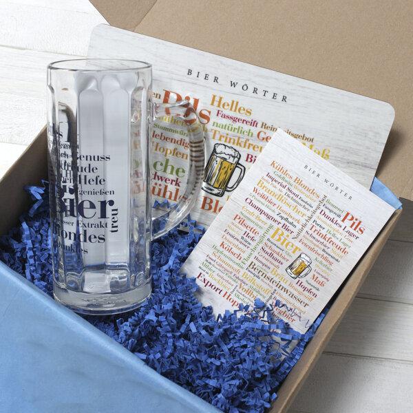 """Für alle Liebhaber des Hopfenbräus gibt es jetzt die Geschenkidee """"Bierbox""""."""