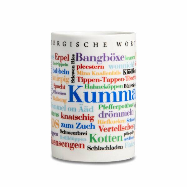 Kaffeebecher Tasse Bergische Wörter