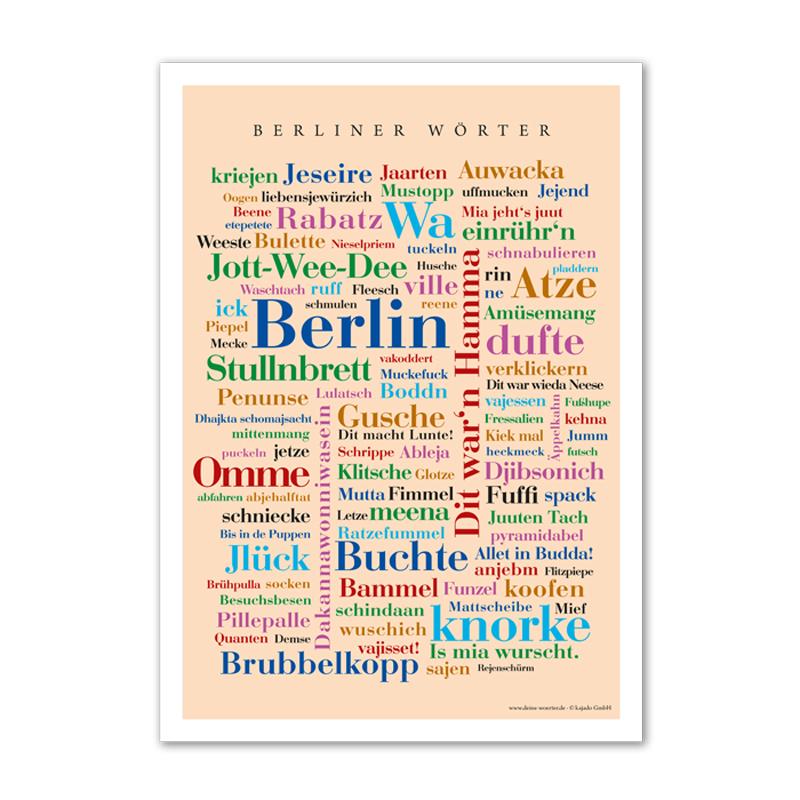 Berliner Wörter