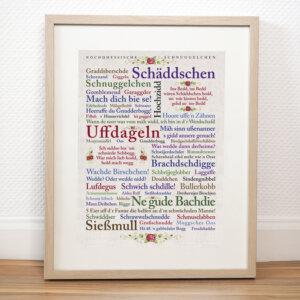 Poster Nordhessiche Liebelei.