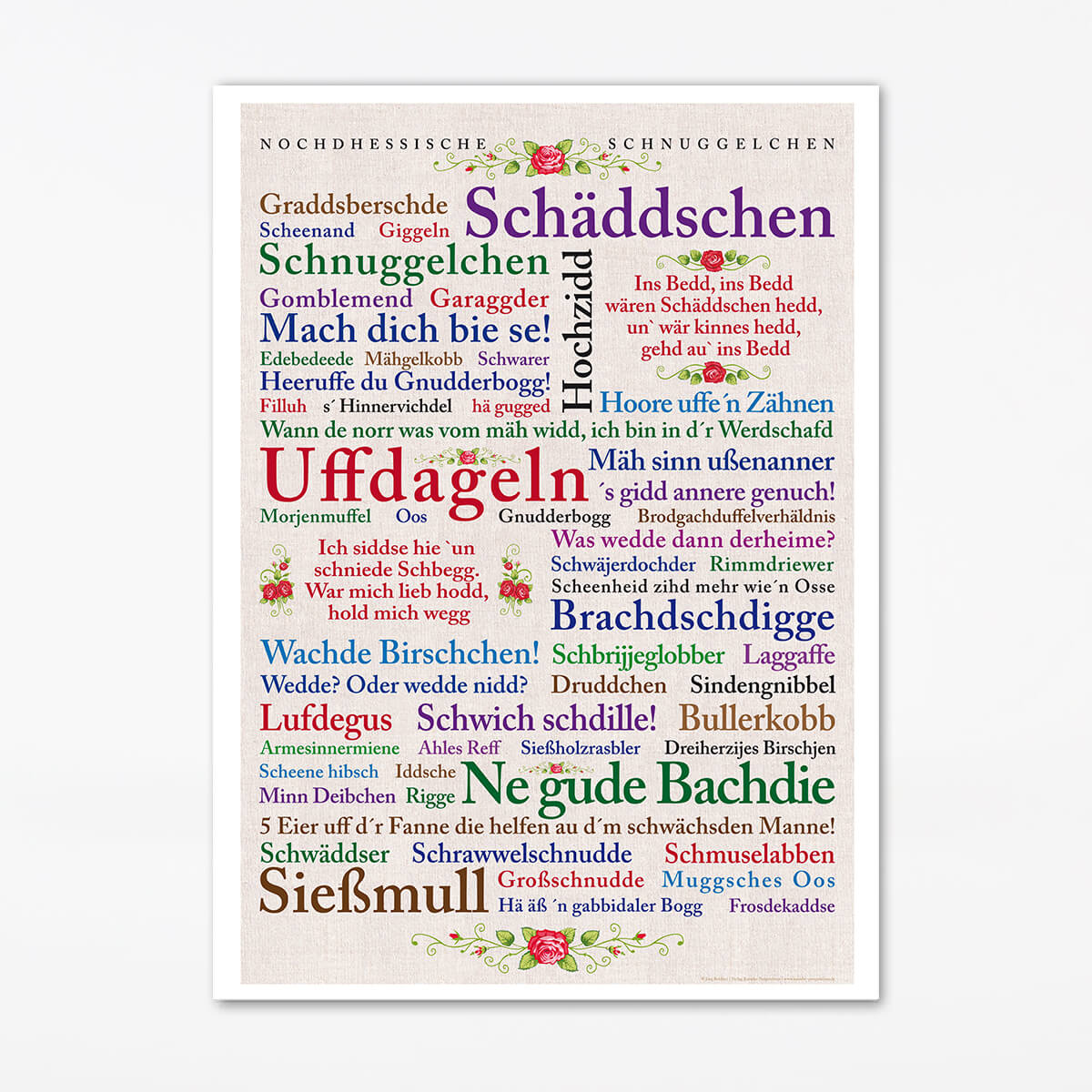 Poster Nordhessische Schnuggelchen.