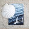 Die Postkarte Ahoi! für Grüße aus dem Norden.