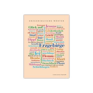 Die schönsten Wörter aus dem Erzgebirge.